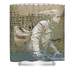 Shower Curtain featuring the photograph Going For Gold by Paul Lovering