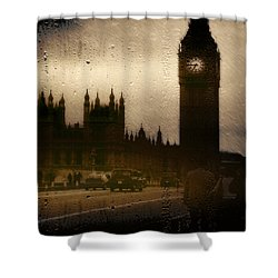Shower Curtain featuring the digital art Going Home  by Fine Art By Andrew David