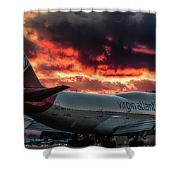Shower Curtain featuring the photograph Going Home by Michael Rogers