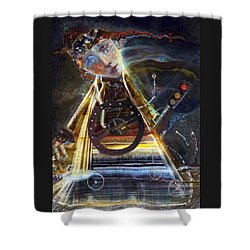 Going On Red Light Shower Curtain