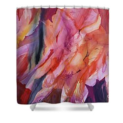 Going With The Flow Shower Curtain by Donna Acheson-Juillet