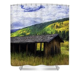 Gold Country  Shower Curtain