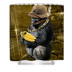 Gold Digger Shower Curtain