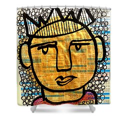 Gold King Shower Curtain