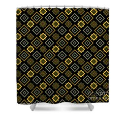 Gold Nights Shower Curtain