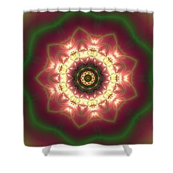 Shower Curtain featuring the digital art Gold  by Robert Thalmeier