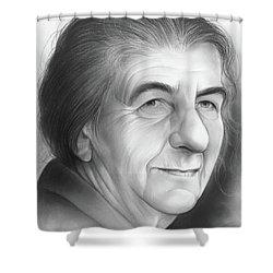 Golda Meir Shower Curtain