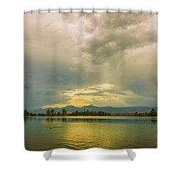 Shower Curtain featuring the photograph Golden Afternoon by James BO Insogna