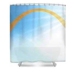 Golden Arch Shower Curtain
