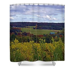 Golden Days Shower Curtain