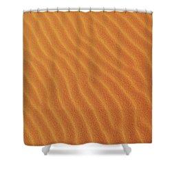 Golden Desert Sands Shower Curtain