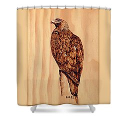 Golden Eagle Shower Curtain