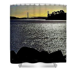 Golden Gate Bridge 2 Shower Curtain