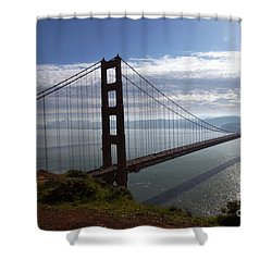 Golden Gate Bridge-2 Shower Curtain