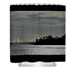 Golden Gate Bridge Shower Curtain