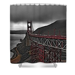 Summer Storm  Shower Curtain