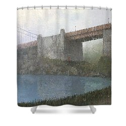 Golden Gate Bridge Shower Curtain by Steve Mitchell