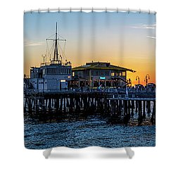 Golden Hour - Panorama Shower Curtain