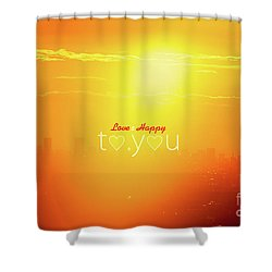 To You #002 Shower Curtain by Tatsuya Atarashi