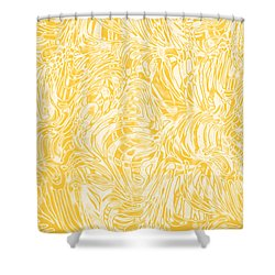 Shower Curtain featuring the photograph Golden by Nareeta Martin