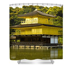Golden Palace Shower Curtain