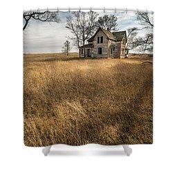 Shower Curtain featuring the photograph Golden Prairie  by Aaron J Groen