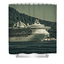 Shower Curtain featuring the photograph Golden Princess  by Timothy Latta