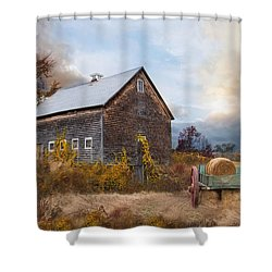 Golden Season Shower Curtain