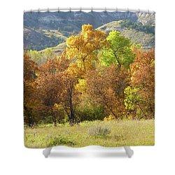 Golden September Shower Curtain