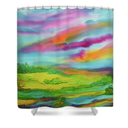 Escape From Reality Shower Curtain
