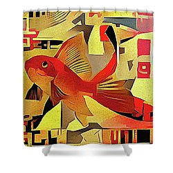 Goldfish #1 Shower Curtain
