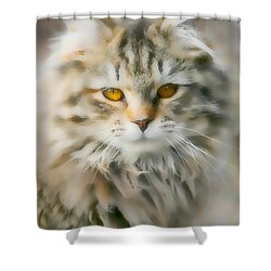 Goldie Golden Eyes Shower Curtain