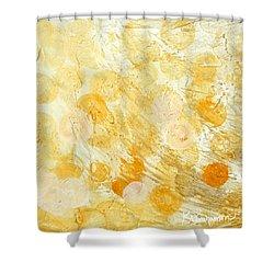 Goldie Shower Curtain by Kristen Abrahamson