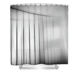 Golen Gate Fog Shower Curtain