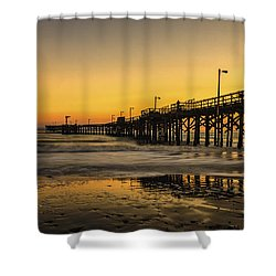 Goleta Sunset Shower Curtain