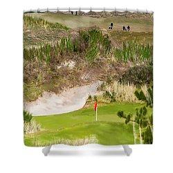 Golf Challenge  Shower Curtain