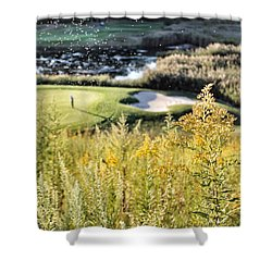 Golf - Green Peace Shower Curtain