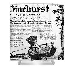 Golf: Pinehurst, 1916 Shower Curtain by Granger