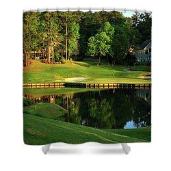 Golf The Landing #3 Reynolds Plantation Lake Oconee Ga Art Shower Curtain