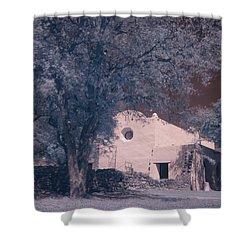 Goliad Mission Shower Curtain