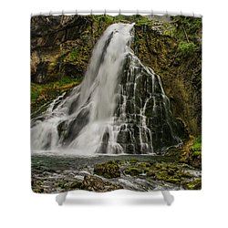 Golling Falls Shower Curtain