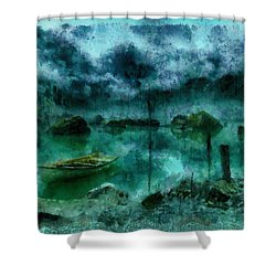 Gollum's Grotto Shower Curtain