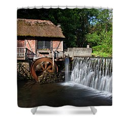 Gomez Mill In Spring #1 Shower Curtain