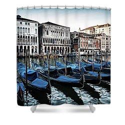Gondolas Shower Curtain