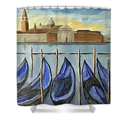 Gondolas Shower Curtain