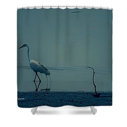 Gone Fishing  Shower Curtain