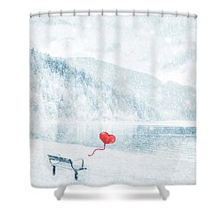 Gone Shower Curtain by Iryna Goodall