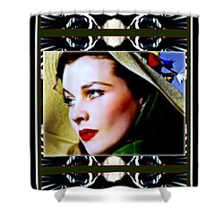 Gone With The Wind Shower Curtain by Wbk
