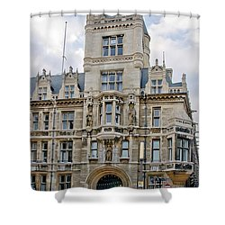 Gonville And Caius College. Cambridge. Shower Curtain