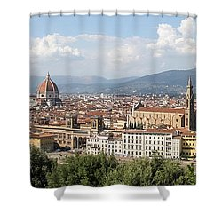 Goodbye To Florence Shower Curtain